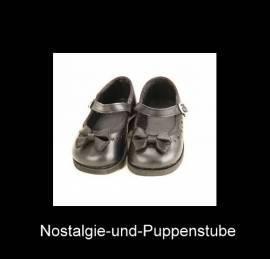 Puppen Schuhe für große Puppen Ballerinas mit Schleife Sohlenlänge13 cm Schildkröt 65189 - Bild vergrößern