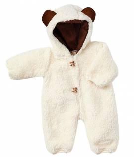 Puppen Winter Schnee Overall Anzug für 36 - 40 cm Puppen Schwenk 82438 - Bild vergrößern