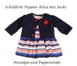 Puppenkleider Puppen Kleid mit Jacke für 49 cm Klassik Puppen Schildkröt, 49747